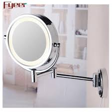 wall mounted lighted cosmetic mirror