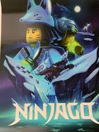 SDCC 2019 LEGO NINJAGO Movie POSTER 16x20 Comic Con Exclusive ...