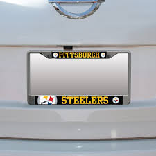 Pittsburgh Steelers Car Accessories Steelers License Plates Decals Fansedge