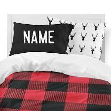 red buffalo plaid bedding set rustic