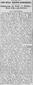 Ella F. Boyd 1898 - Newspapers.com