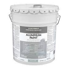 Valspar Heavy Duty Aluminum Satin Exterior Paint 5 Gallon In The Exterior Paint Department At Lowes Com