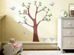 Romantic Kids Room Design Trees For Decorating Empty Walls