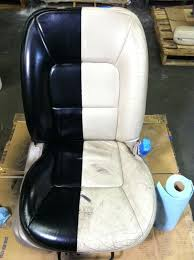 spray paint leather car seats give