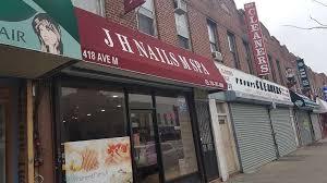 jh nail salon m spa 418 avenue m