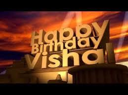 happy birthday vishal you