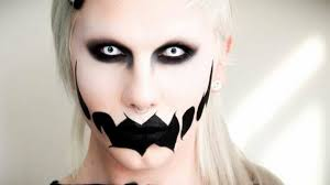 pretty and scary makeup ideas