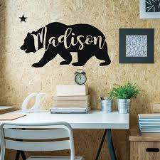 California Bear Vinyl Wall Art Vinyl Decor Wall Decal Customvinyldecor Com