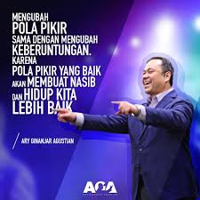 quote ary ginanjar agustian motivator