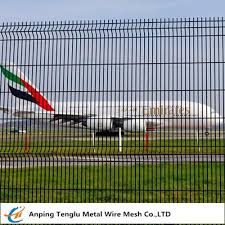 Airport Safety Mesh Fence 50x100mm Hole Size Wire Mesh For Airport Safety For Sale Wire Fencing Manufacturer From China 107508766