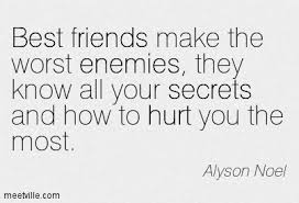 secrets and quotes about friends quotesgram