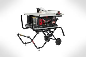 Sawstop 1 5 Hp 120v Jobsite Saw Pro With Mobile Cart Assembly The Woodsmith Store
