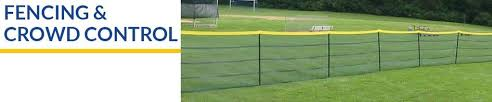 Baseball Field Fencing Field Equipment Wolverine Sports