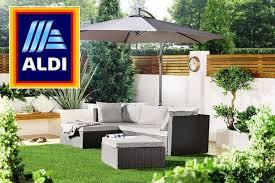 aldi s 200 garden sofa sparks frenzy