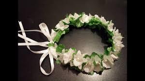 طوق الورد لفرحك بإيدك اكسسوارات الافراح How To Make Flower Crown