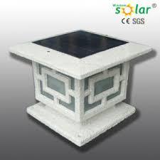 China Aluminum Solar Gate Post Pillar Light Solar Light Fence Post Cap China Led Solar Gate Light Solar Gate Light Lamp