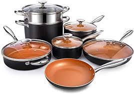com michelangelo copper pots