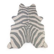 Zebra Kids Rug 145x160 Cm Nude Childhome Com