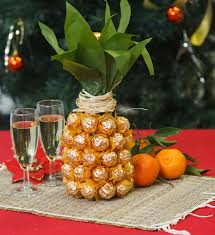 how to make pineapple chagne bottle