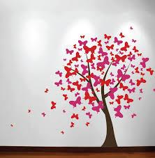 Butterfly Tree Nursery Wall Decal 1140 Innovativestencils