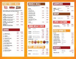 menu frfc lee s en miami valley ohio