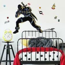 G I Joe Retro Snake Eyes Peel Stick Giant Wall Decals Kids Room Decor Stickers Ebay