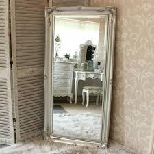 white wall mirror mantel newbury white