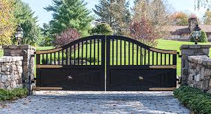 Automated Driveway Gates In New York Tri State Gate