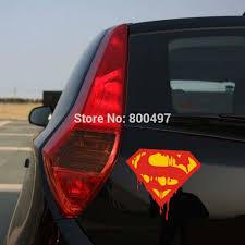 New Styling Funny Logo Superman Bleeding Decoration Stickers Car Whole Body Decals For Bmw Benz Audi Fiat Toyota Kia Honda Tesla Car Stickers Aliexpress
