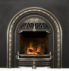 victorian style gas fireplace