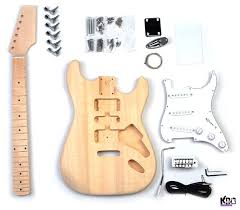 great starter luthier kit to build a st