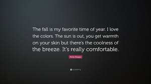 """ricky skaggs quote """"the fall is my favorite time of year i love"""