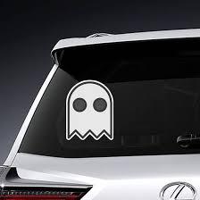 Halloween Pacman Ghost Sticker