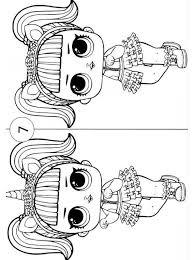 Kids N Fun Puzzels L O L Surprise Dolls Zoek De Verschillen
