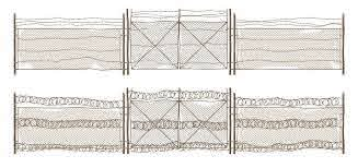 Free Iron Fence Vectors 200 Images In Ai Eps Format