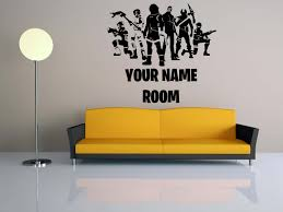 Fortnite Decal 3d Smashed Wall Sticker Home Decor Art Mural Photo Graphic J1305 Children S Bedroom 3d Decor Decals Stickers Vinyl Art Aeromodelling Or Id