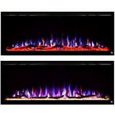 elite wall mounted electric fireplace 80036