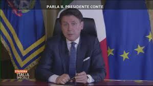 COVID-19: Parla il presidente del Consiglio Conte - Stasera Italia ...