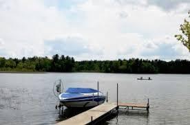 Speedboat on Lake Ida - Walters Resort