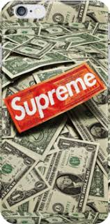 supreme cash money snap case for iphone