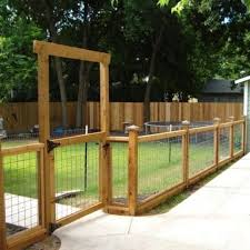 Outdoor Room Outdoor Oasis Backyard Fences Wire And Wood Fence Backyard