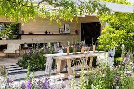 small space garden ideas with patio