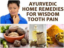 home remes for wisdom tooth pain