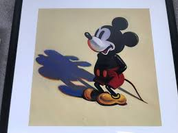 wayne thiebaud the art of mickey mouse