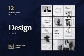 insram grid template psds for 2020
