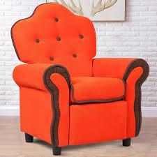 Children Recliner Kids Sofa Chair Couch Living Room Furniture Orange Children Sofas Aliexpress