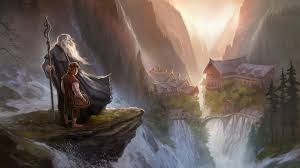 lord of the rings cartoon wallpapers