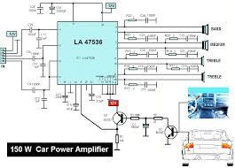 150w car audio lifier lifier