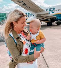 travel tips flying with a baby