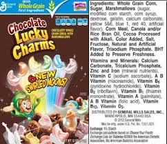 is chocolate lucky charms gluten free